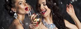 Девушкам шампанское